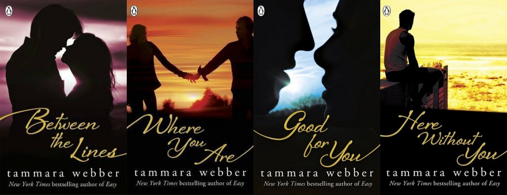 {Giveaway} Win the ENTIRE Between the Lines Series, SIGNED, by Tammara Webber (International) (3/3)