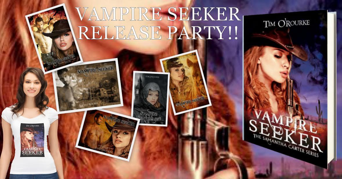 Vampire Seeker Release Party YO