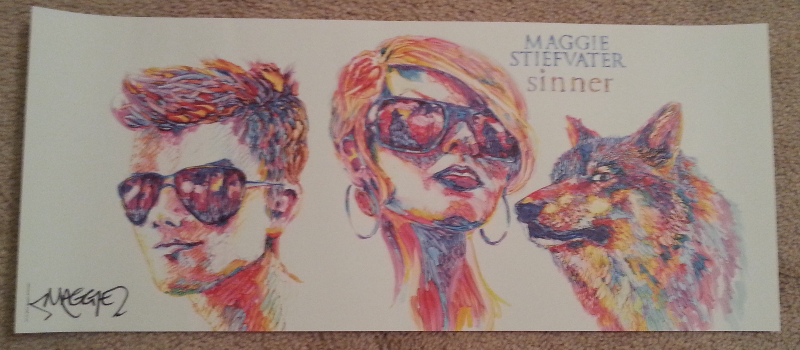 {Giveaway} Win A Signed Hardcover Of Sinner By Maggie
